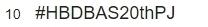 บาส สุรเดช วันเกิด แฟนคลับ  #HBDBAS20thPJ