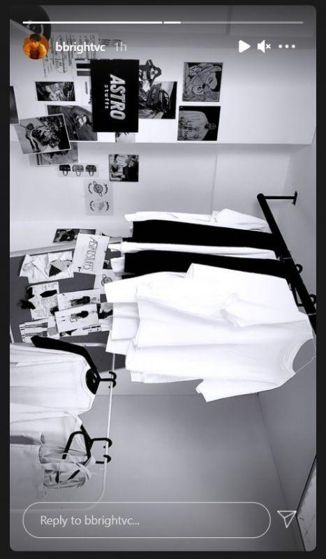 ไบร์ท วชิรวิชญ์ คอลเล็กชั่นใหม่ เสื้อผ้า ธุรกิจ นักแสดง