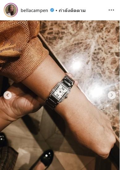 เบลล่า วันเกิด แม่ ของขวัญ นาฬิกาหรู