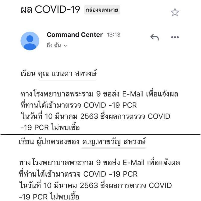 น้องมะลิ โบว์ แวนด้า กัก โรค Covid-19