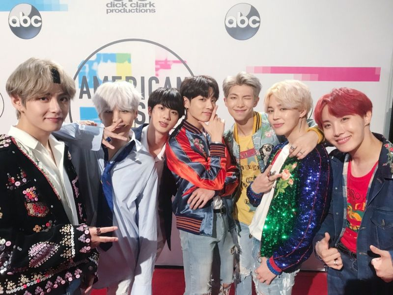 #BTSxAMAs  AMA Guinness World Records 201 BTS DNA