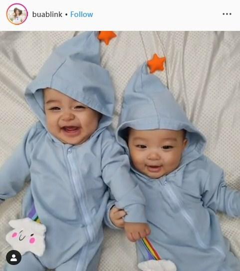 บัว สโรชา วายุ วาตะ ทายาท ลูกแฝด
