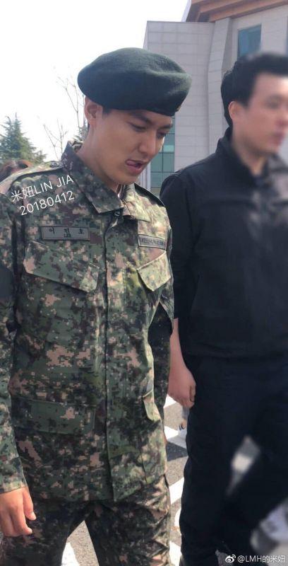 ลีมินโฮ ปลดประจำการ ทหาร ประเทศเกาหลี