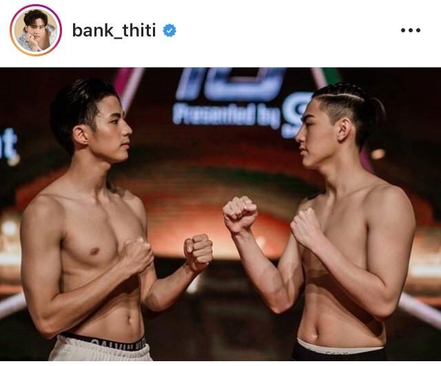 10 fight 10 แบงค์ ธิติ เจ้าขุน โชว์นิ้วกลาง