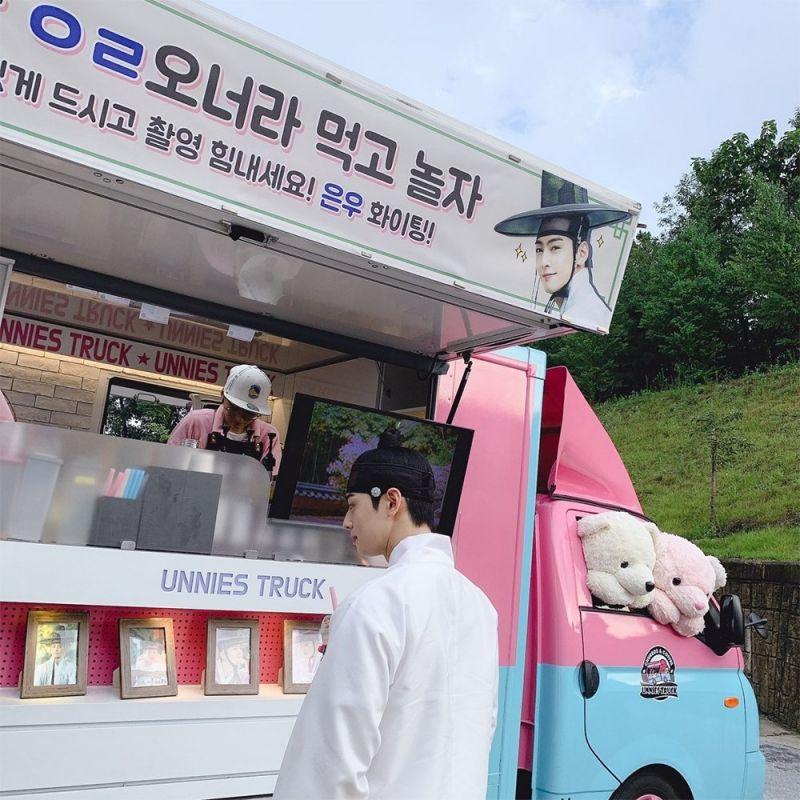 Jungkook วง BTS Cha Eun Woo วง ASTRO