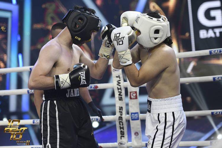 แน็ก ชาลี 10 Fight 10 ดราม่า ชกมวย