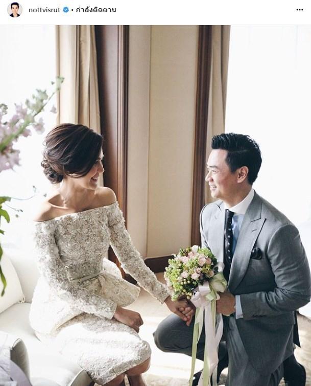 น็อต ชมพู่ แต่งงาน 3 ปี สายฟ้า พายุ