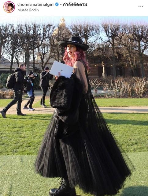 ชมพู่ อารยา Paris Haute Fasion Week แฟชั่น วีค ฝรั่งเศส