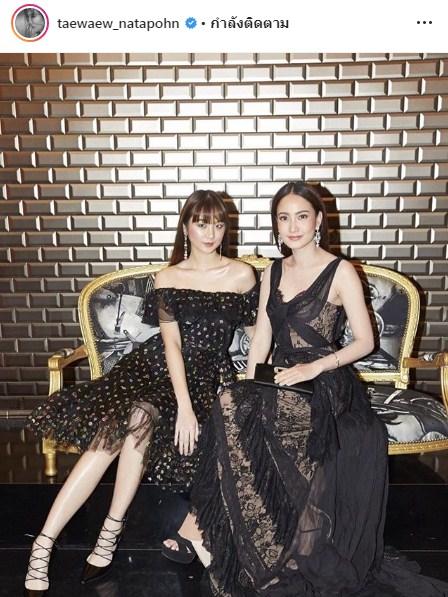 LOfficiel Fashion Destination แฟชั่น ปารีส ชมพู่ ต้าเหนิง แต้ว