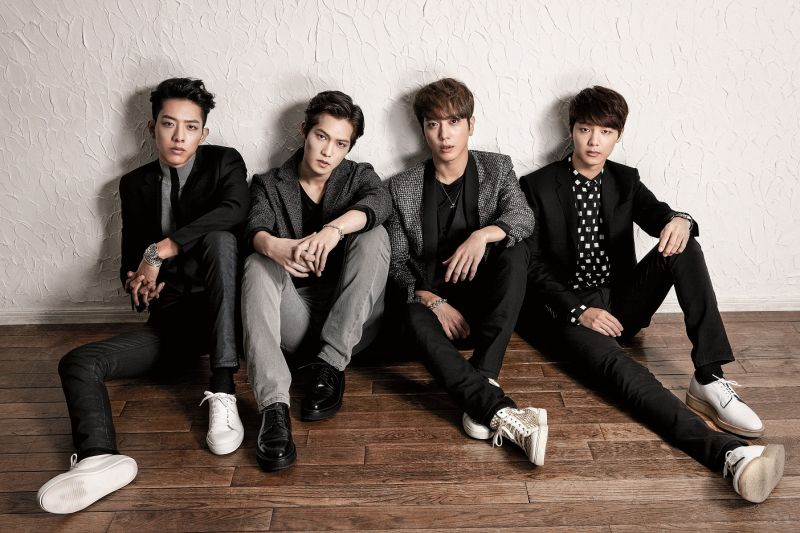 Cnblue คอนเสิร์ต มาไทย 2017 CNBLUE LIVE [BETWEEN US] IN BANGKOK