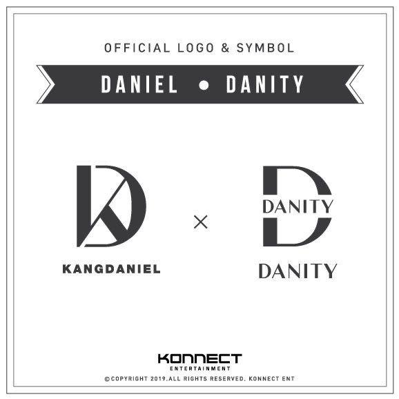 Kang Daniel โลโก้ Danity