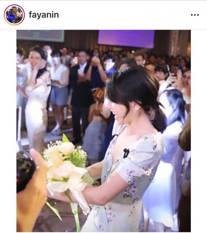 ใหม่ เต๋อ แต่งงาน ได้ ดอกไม้ เจ้าสาว ณัฏฐ์ นาน่า