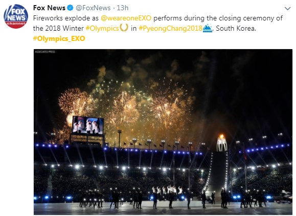 EXO CL Olympics_EXO Pyeongchang Olympics 2018