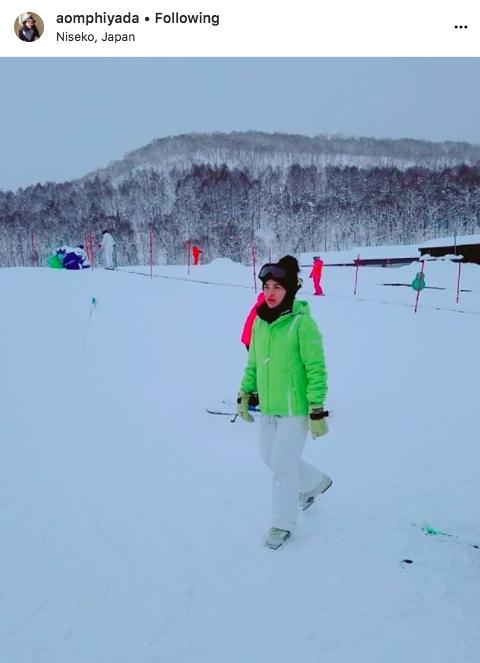 แฟชั่น หิมะ ซุปตาสาว ท้าลมหนาว