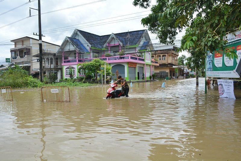 น้ำท่วมจันทบุรี