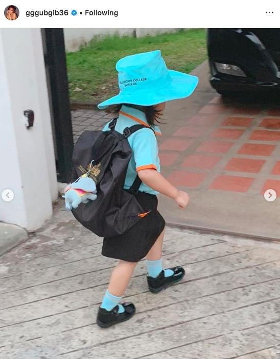 น้องเป่าเปา เข้าโรงเรียน เปิดเทอม นักเรียนใหม่