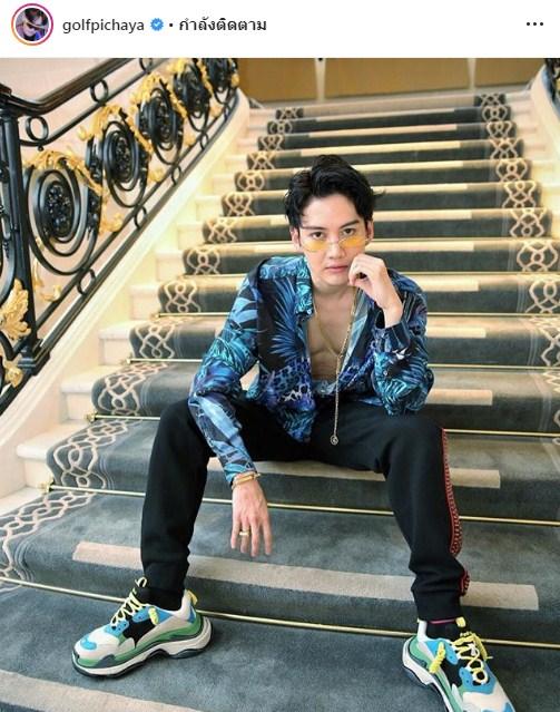 กอล์ฟ พิชญะ วีซ่า นักแสดง ผลงาน โกอินเตอร์ ต่างประเทศ