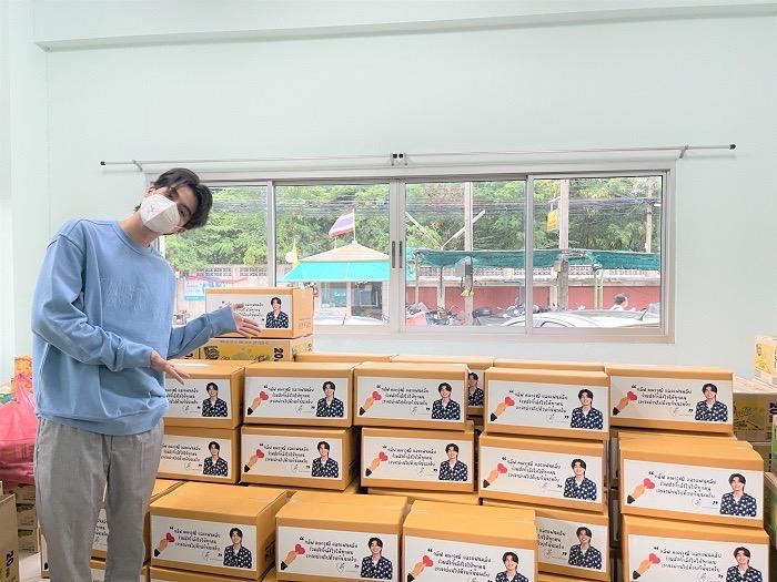 กลัฟ คณาวุฒิ นักแสดง พระเอก ช่อง3 กำลังใจ