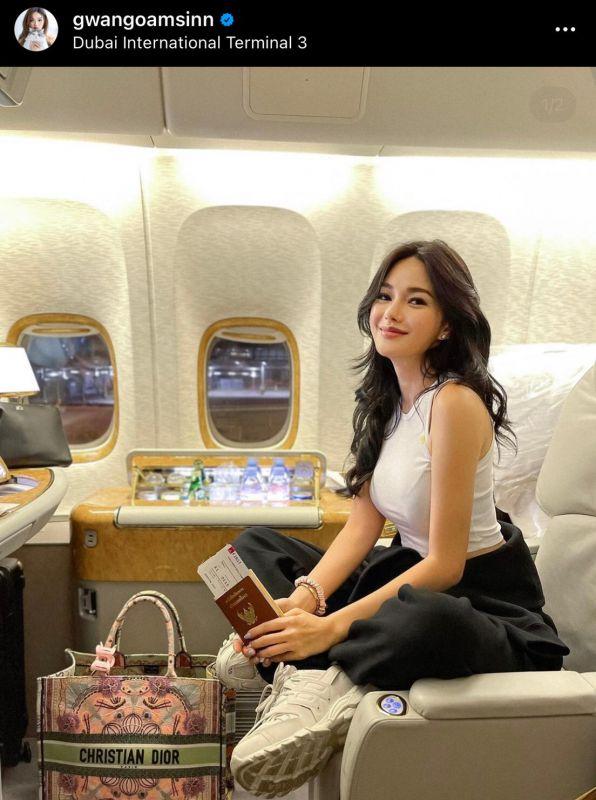 กวาง เดอะเฟซ ต่างประเทศ ชาวเน็ต นางแบบ นักแสดง แฟน
