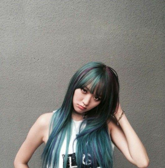 ไอดอล เปลี่ยนสีผม สวย