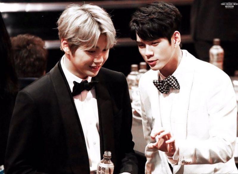 Kang Daniel และ Ong Seong Wu