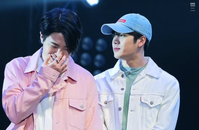 Jackson Wang และ Choi YoungJae วง GOT7