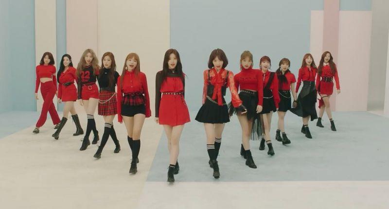 izone_debut La_Vie_en_Rose Produce48