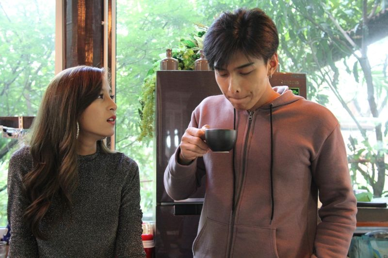jammie_panichadar โหน แจมมี่ รัก กาแฟ ชะชะช่าท้ารัก