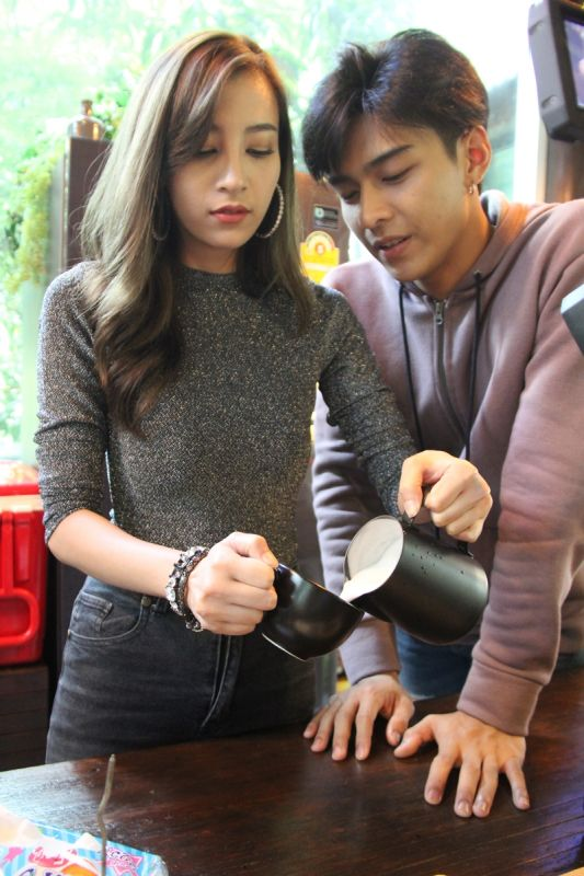 โหน แจมมี่ รัก กาแฟ ชะชะช่าท้ารัก