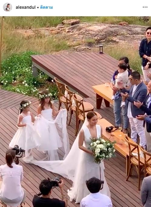 งานแต่ง เจนี่ มิกกี้ อบอุ่น