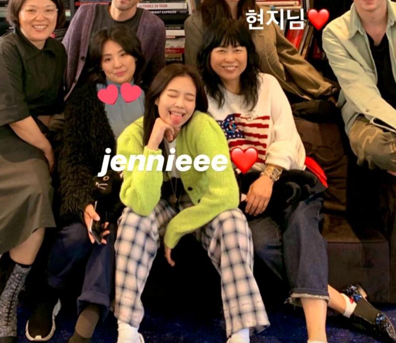 Jennie วง Blackpink  คุณแม่ หน้าเหมือน