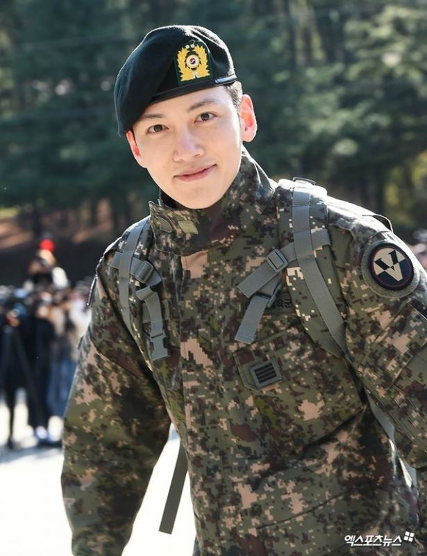 Ji Chang Wook ทหาร ประจำการ