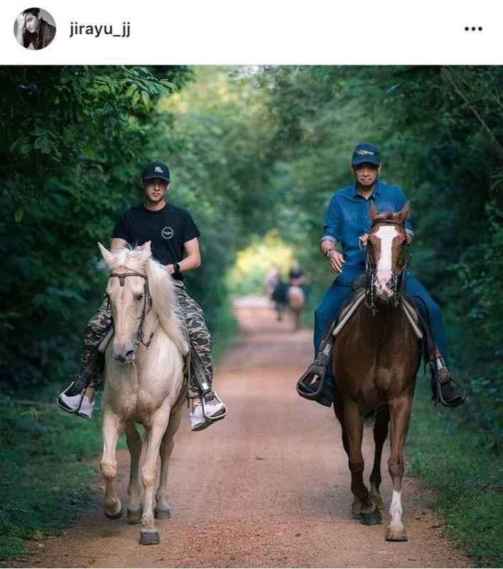 เจมส์ จิรายุ โชว์ขี่ม้า หนึ่งด้าวฟ้าเดียว