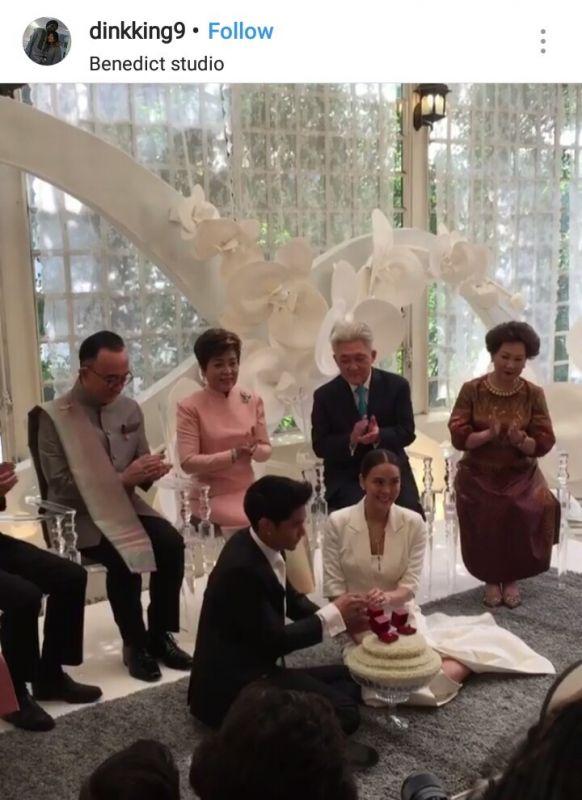 เจนี่ มิกกี้ งานแต่งงาน แต่งงาน จดทะเบียน