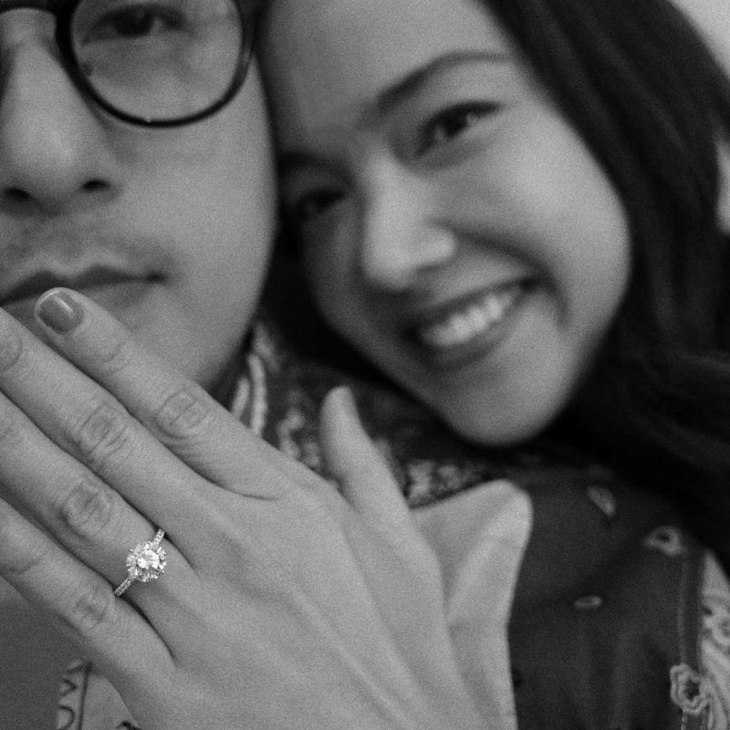 จอย ชลธิชา โต้ง ปัญญศักดิ์ แต่งงาน คู่รัก