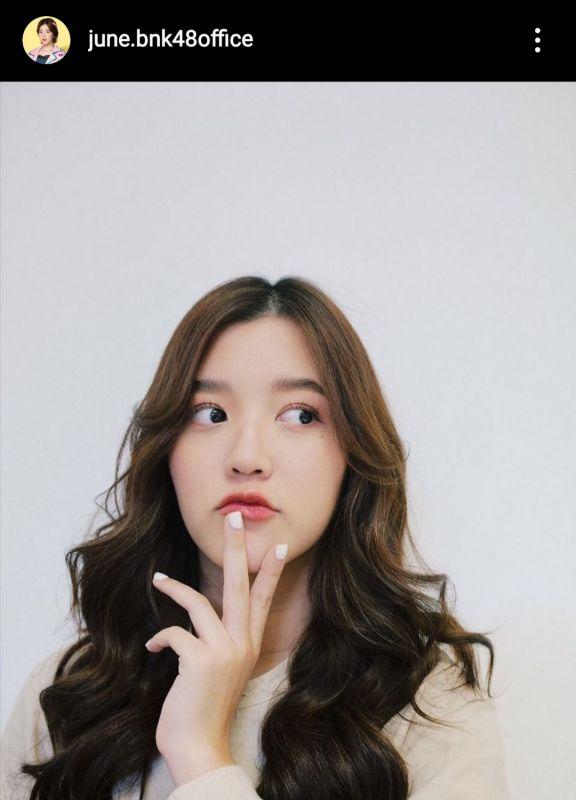 จูเน่BNK48 น้องร้อง ไอดอลสาว เกิร์ลกรุ๊ป