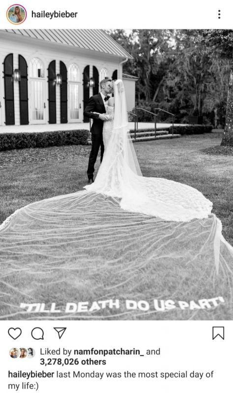 Justin Hailey แต่งงาน ไอดอล