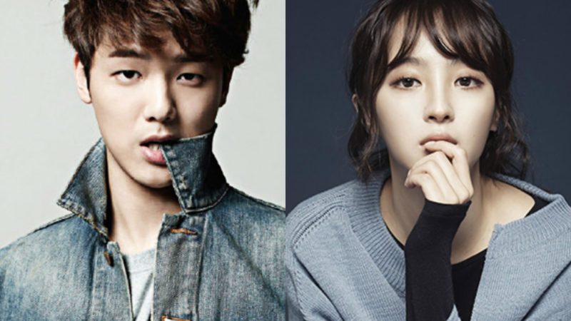 Minhyuk and actress Jung Hye Sung