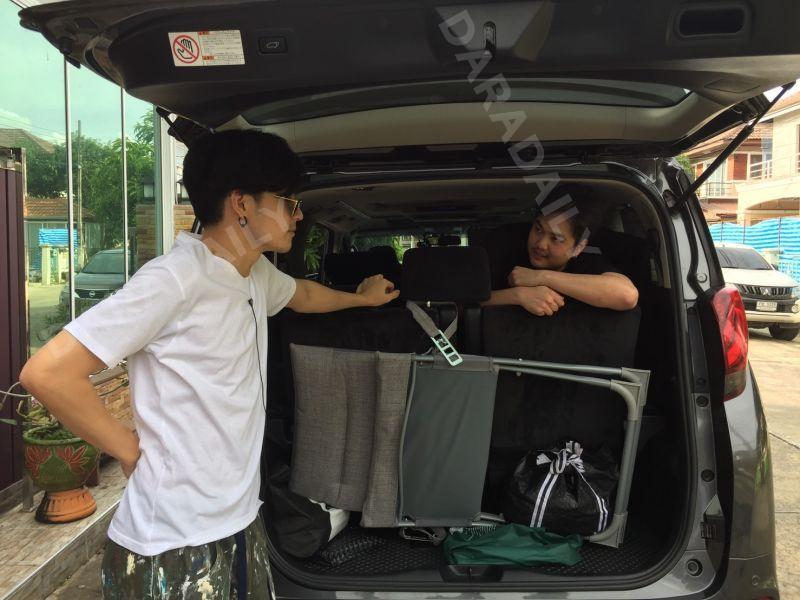 เก้า จิรายุ นักแสดง รถหรู