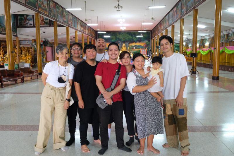 เก้า จิรายุ ครอบครัว เพื่อน ทำบุญวันเกิด