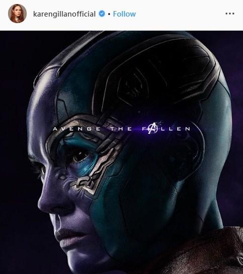 Karen Gillan Avengers Endgame