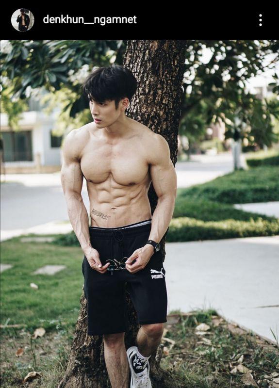 พระเอก ซิกแพค สุขภาพ ออกกำลังกาย