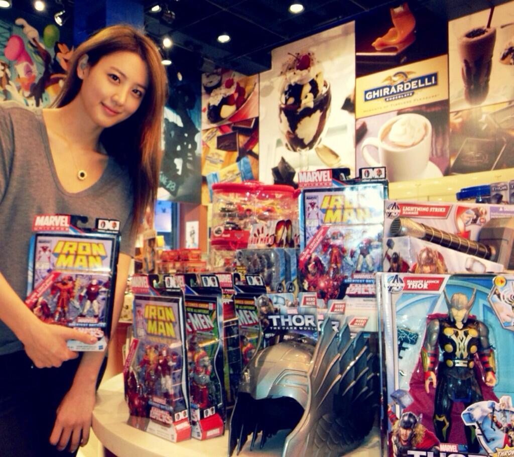 Soohyun เตรียมบุก Hollywood ลงเล่น Avengers2