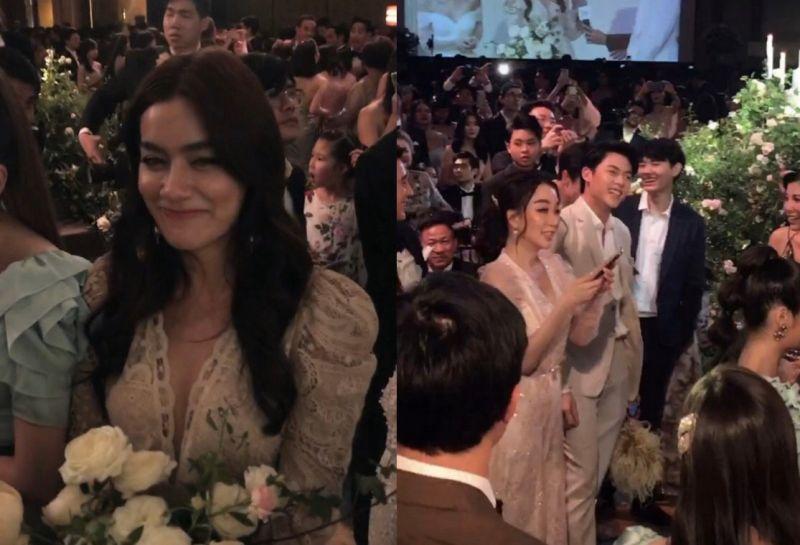หมาก คิม แฟน คบ ความรัก แต่งงาน ช่อดอกไม้ เจ้าสาว