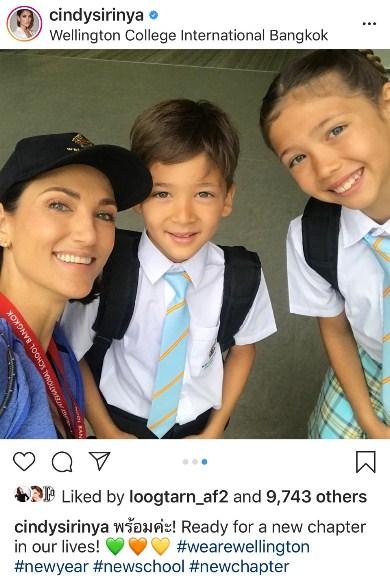 พ่อแม่ ดารา ลูก เข้าโรงเรียน แอน ริชา ชมพู่ สายฟ้า พายุ
