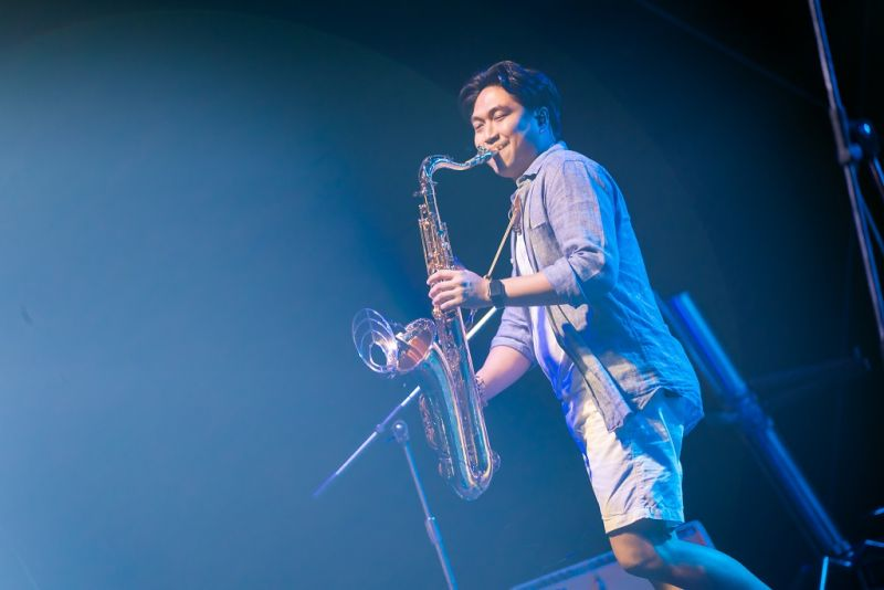 โก้ มิสเตอร์แซกแมน ดนตรีเเจ๊ส