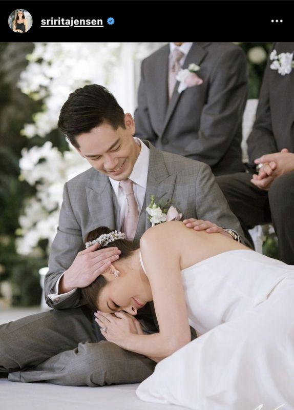 กรณ์ ณรงค์เดช ศรีริต้า เจนเซ่น แต่งงาน ทายาท