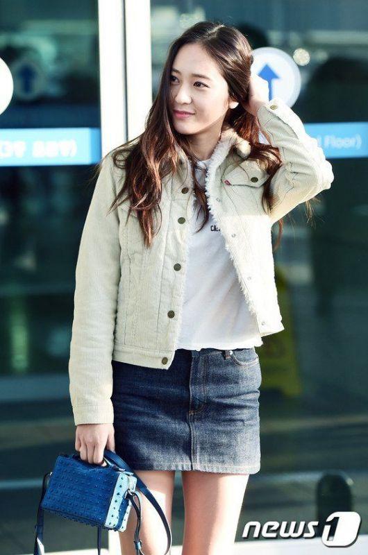 ไอดอลเกาหลี หุ่นดี  ดาราหุ่นเป๊ะ แฟนคลับเกาหลี Krystal
