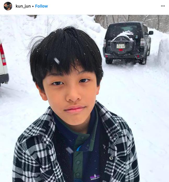 เคน หน่อย คุน จุน ครอบครัว ญีปุ่น