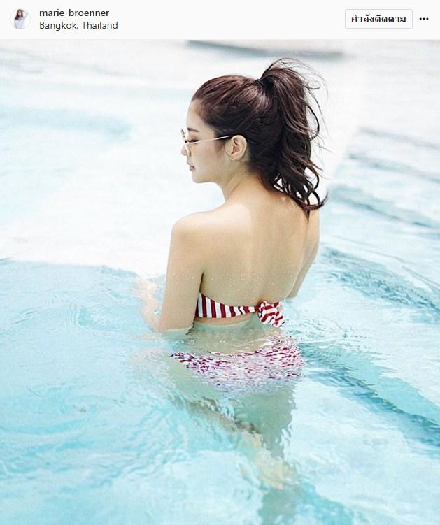 มารี เบิร์นเนอร์ ไฮโซโชแปง นางเอก ชุดว่ายน้ำ ความรัก